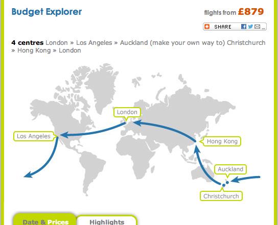 ruta mundo