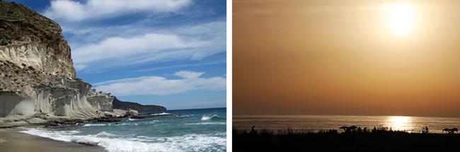 playas del sur de españa