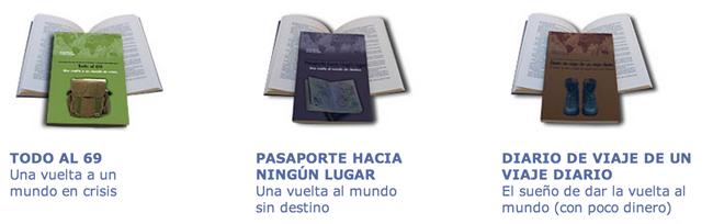 la vuelta al mundo libros