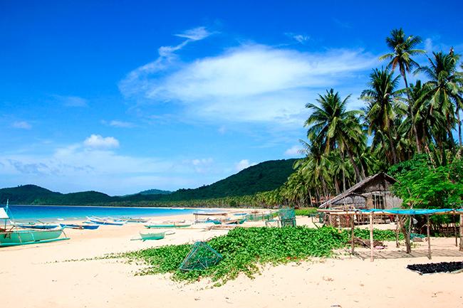 FILIPINAS-Nacpan-Beach-Palawan