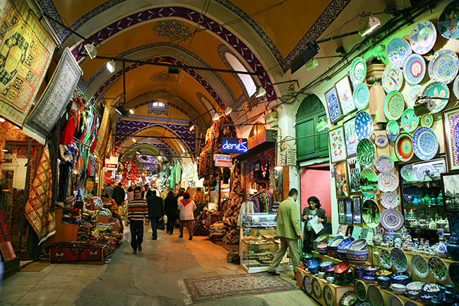 bazar. 5 rincones de Sultanhamet