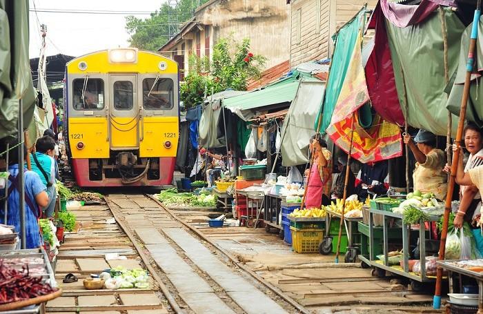 mae klong mercados de bangkok