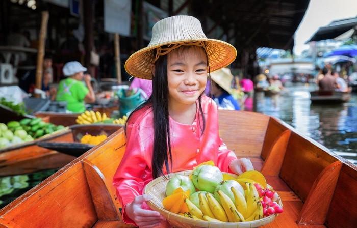mercado flotante mercados de bangkok