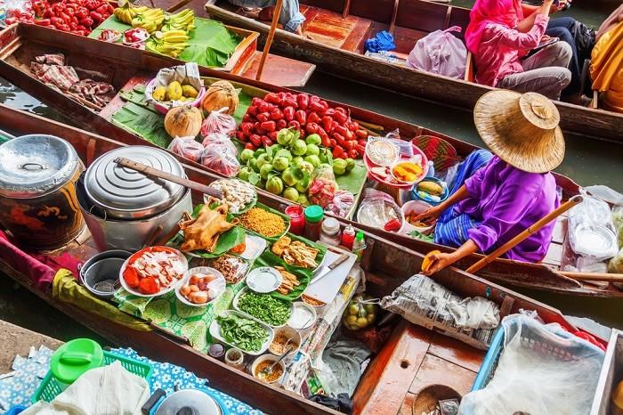damnoen saduak mercados de bangkok
