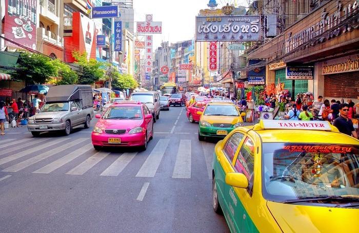 taxi bangkok aeropuerto al centro de Bangkok