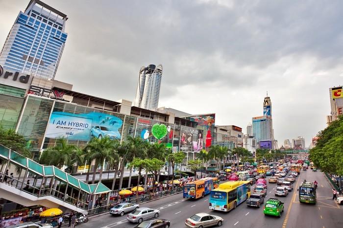 bus bangkok aeropuerto al centro de Bangkok