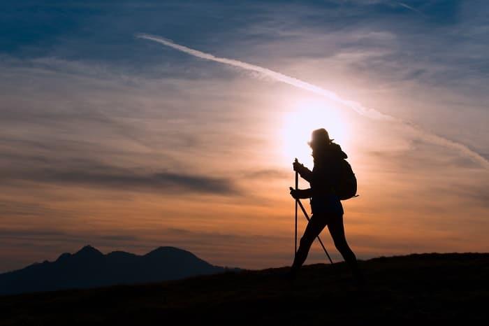 Peregrinar al amanecer