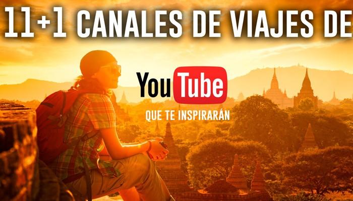 Canales de viajes de Youtube