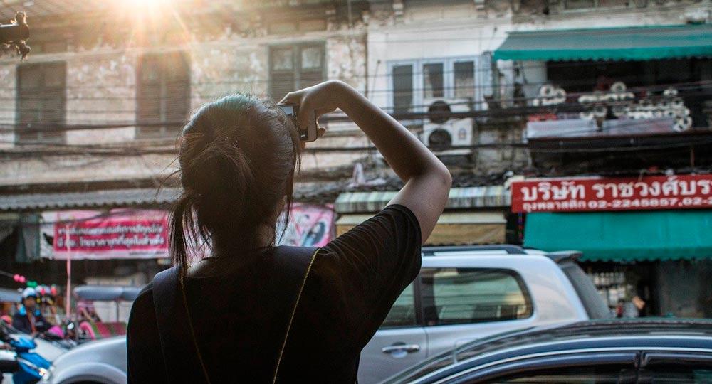 viajar sola a Tailandia