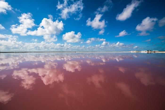 que ver en Chile Laguna Roja