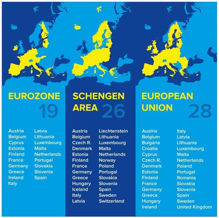 Seguro Schengen mapa países