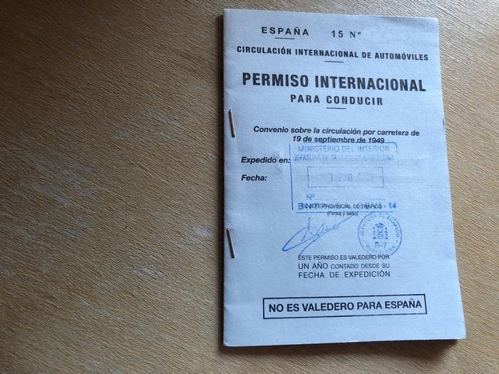 Permiso internacional