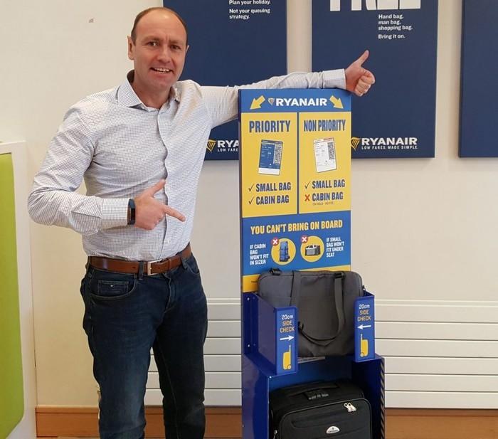equipaje Ryanair permitido