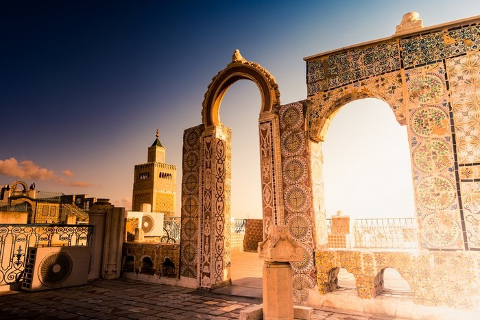 seguro viajar a Túnez