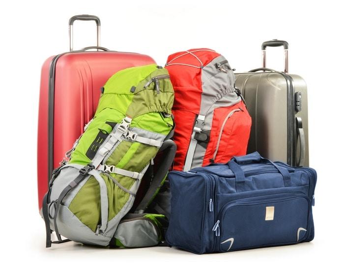 equipaje para viaje largo