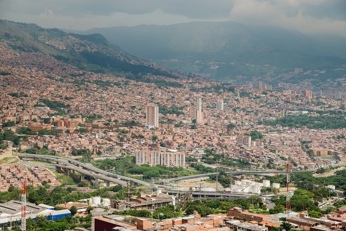 itinerario viaje por Colombia