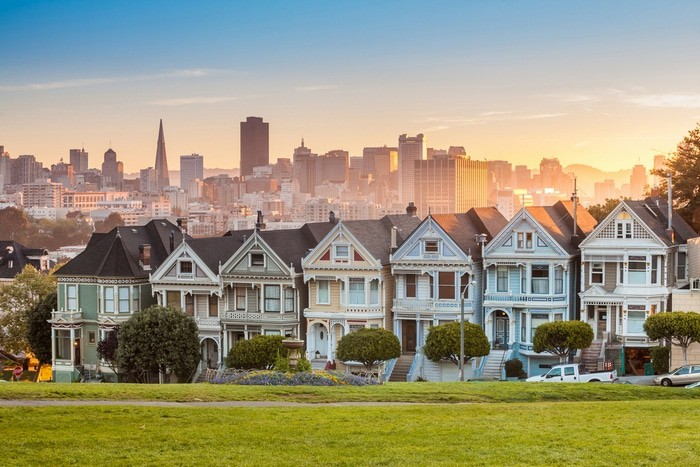 que ver en San Francisco Painted Ladies