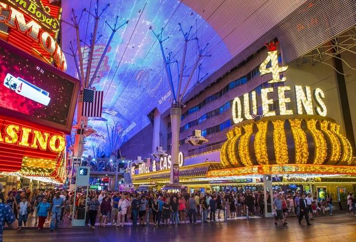 pantalla de Las Vegas