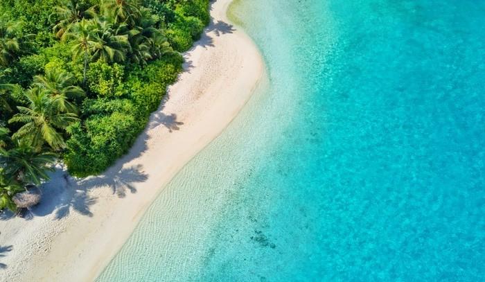 bikini en Maldivas
