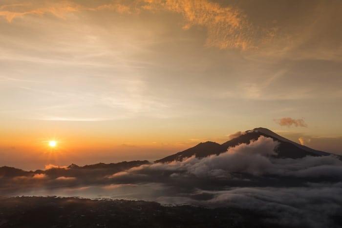 Bali volcán Batur