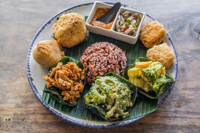 comer en Canggu Bali