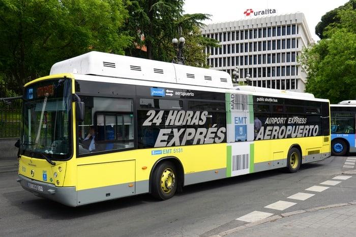 llegar al Aeropuerto de Madrid en bus