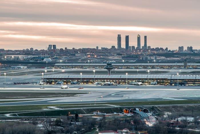 llegar al Aeropuerto de Madrid