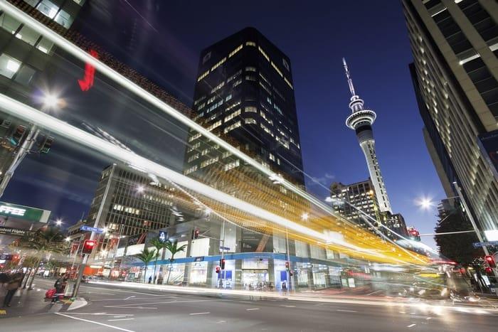 Queen Street en Auckland