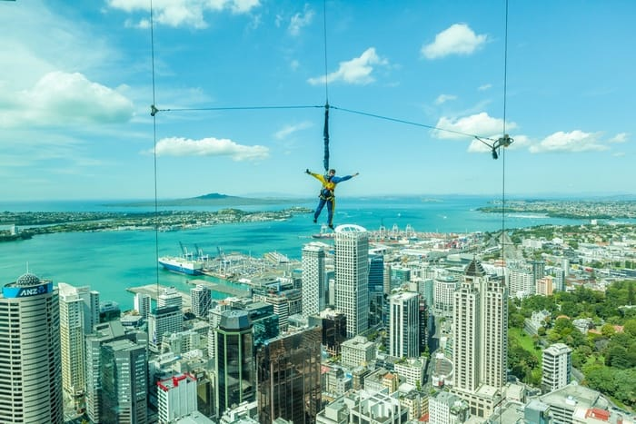 saltar de la Sky Tower