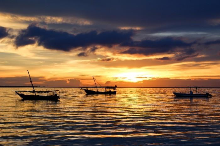 atardecer en Zanzibar