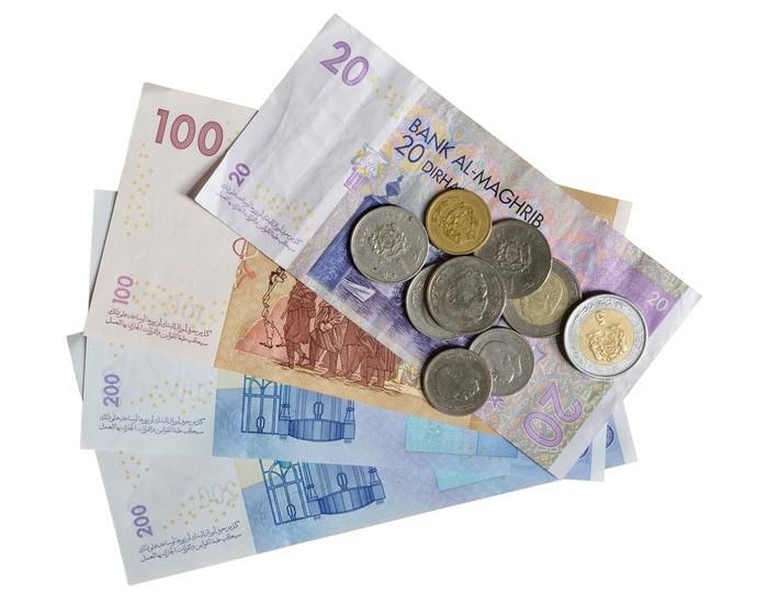 su moneda es el dirham