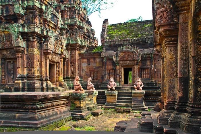 Llegar a los templos de Angkor desde Phnom Penh