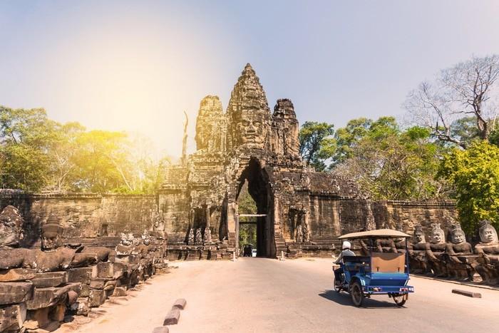 cómo moverse por Angkor
