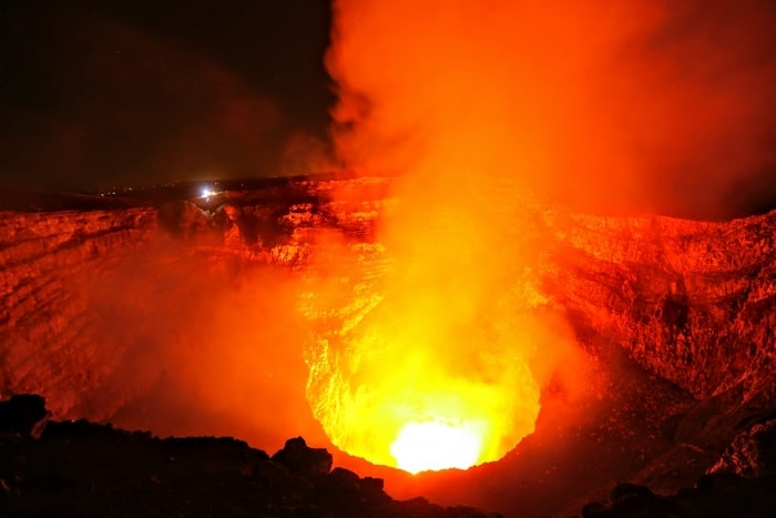 Volcán Masaya, Nicaragua