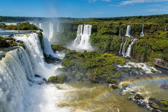 Cataratas de Iguazú, Brasil y Argentina