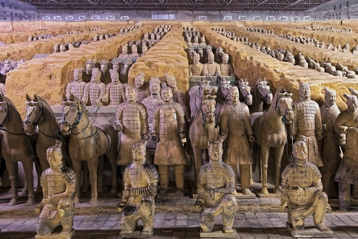 Guerreros de Terracota, China