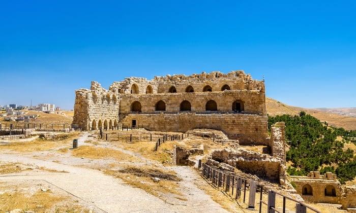 Castillos templarios en Jordania
