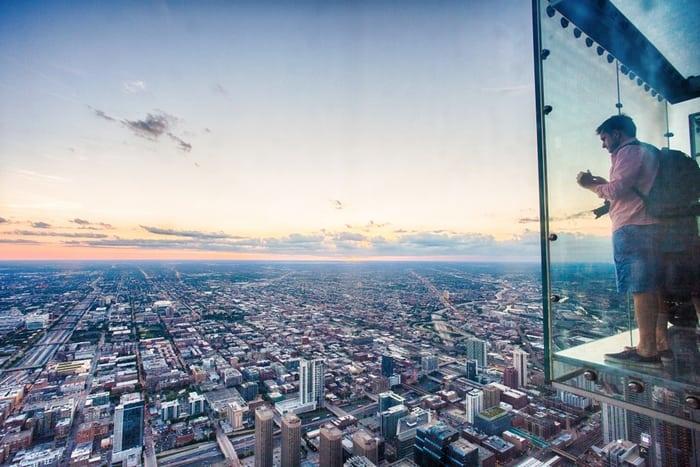 Willis Tower y el Skydeck