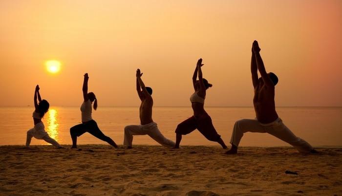 yoga en el viaje