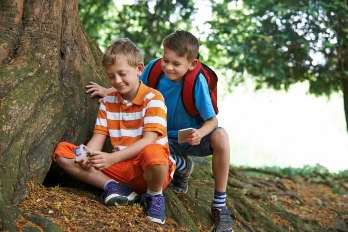 geocaching con niños