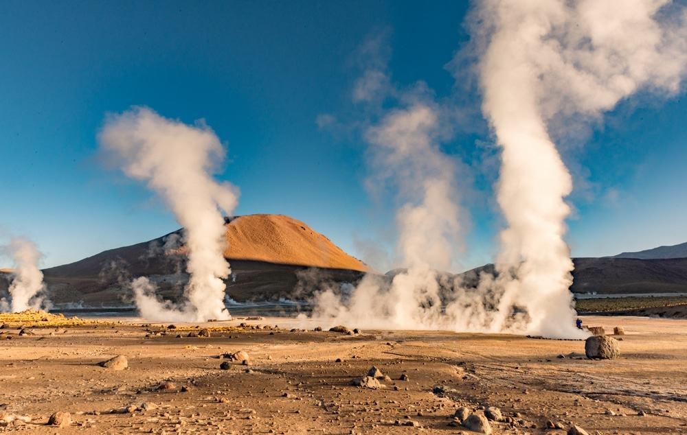 geiseres en Atacama
