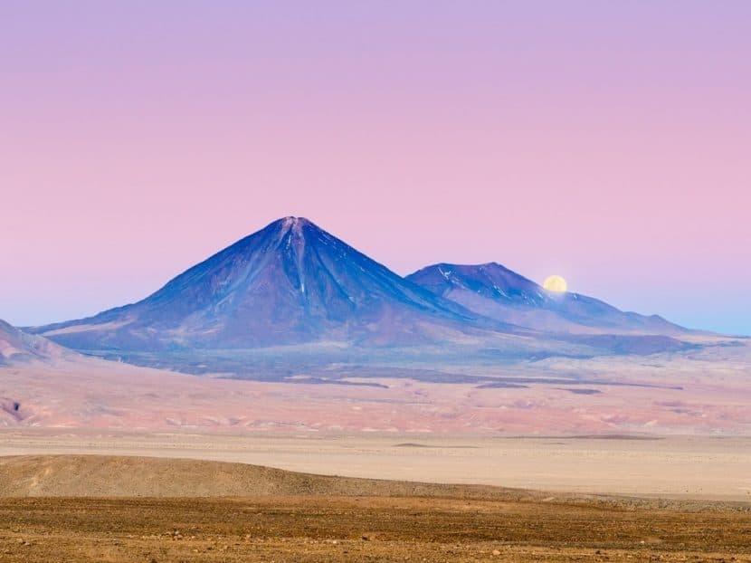 volcán Licancabur en Atacama