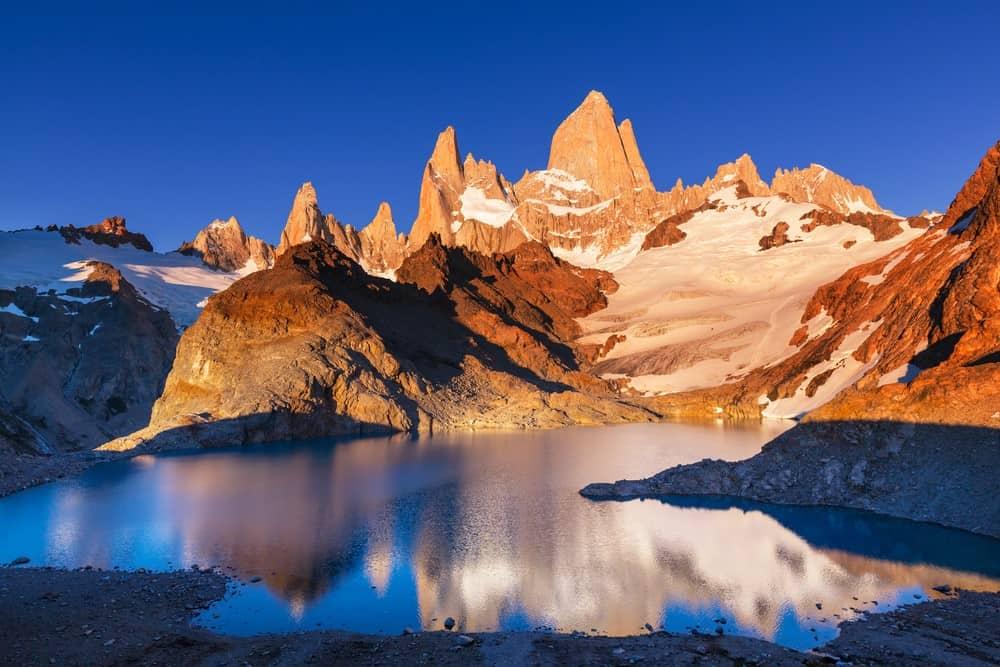 Fitz Roy en Patagonia Argentina