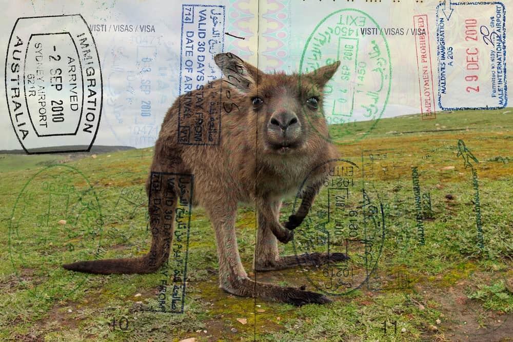 tipos de visado Australia