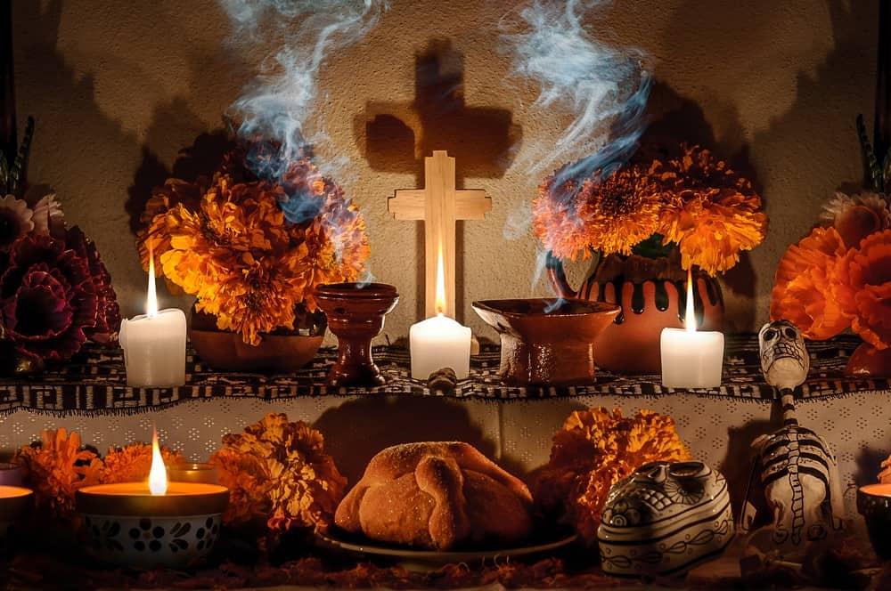 celebrar el Día de Muertos en México