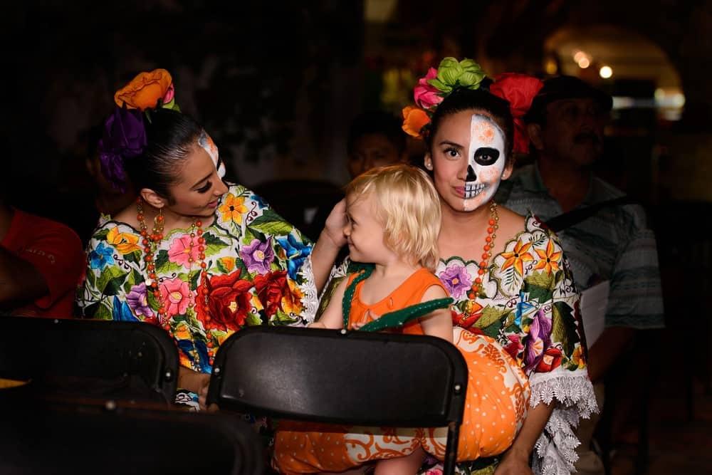 Día de Muertos en Riviera Maya, México