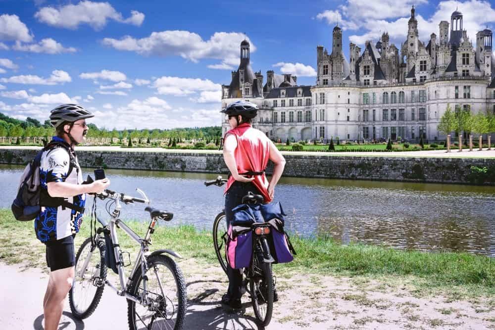 rutas en bici por los Castillos del Loira