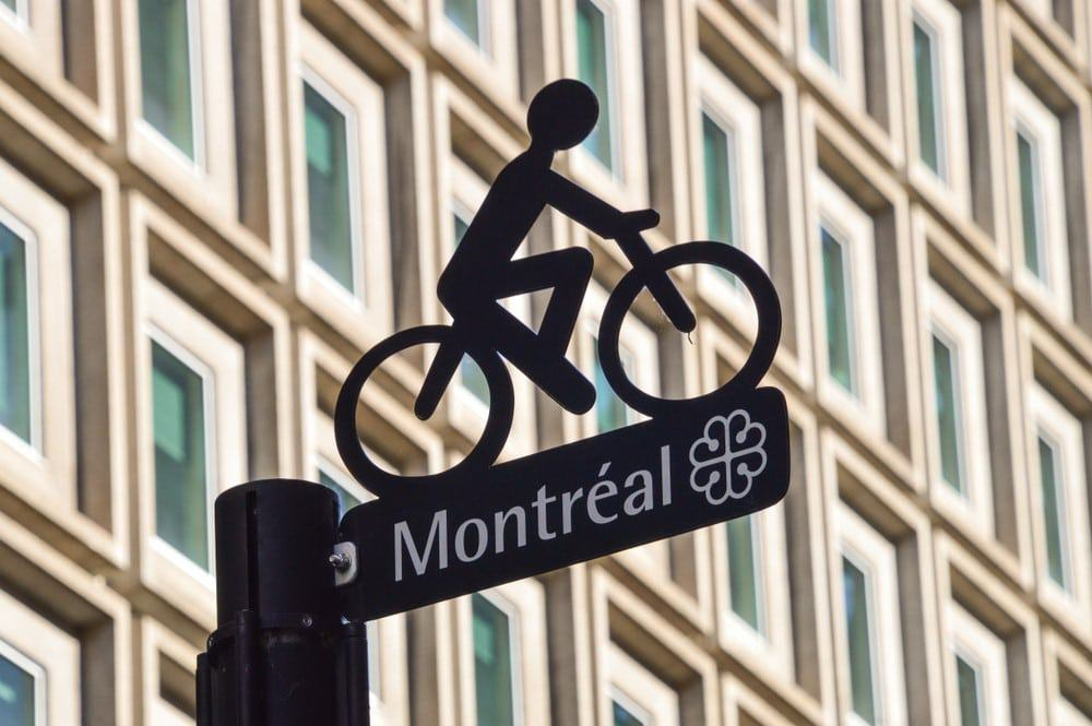 rutas de bicicleta Montreal