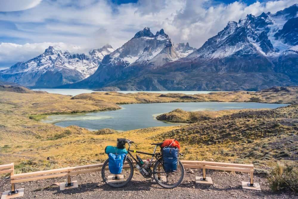 ruta por Patagonia en bicicleta