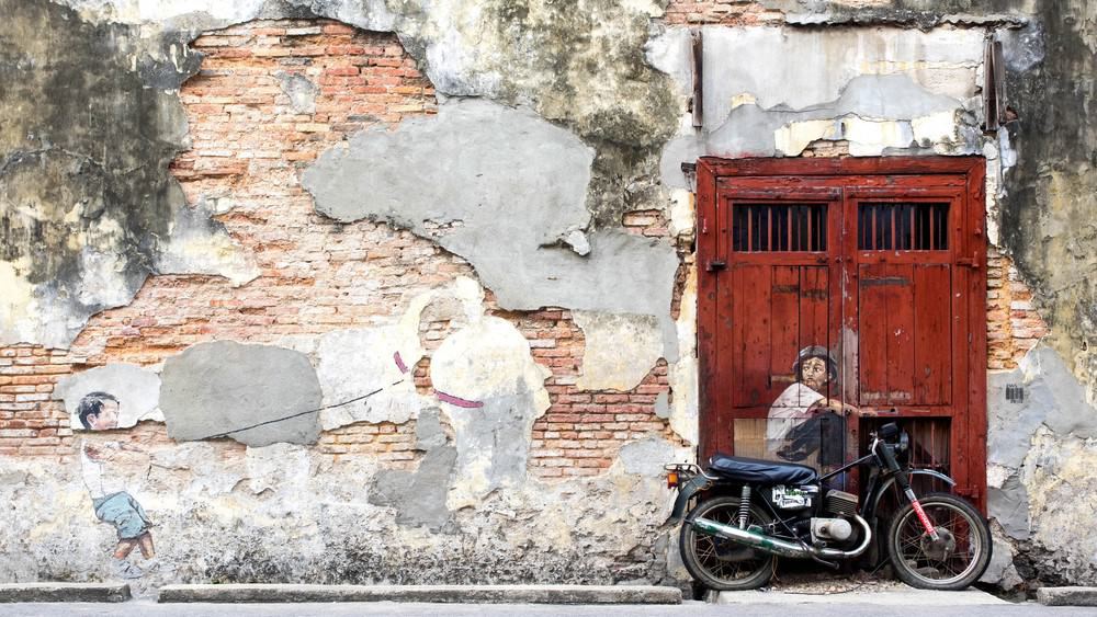 que hacer en Malasia: street Art en Penang